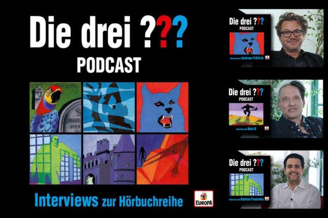"""""""Die drei ???"""" Hörbuch-Reihe mit Video-Podcast"""